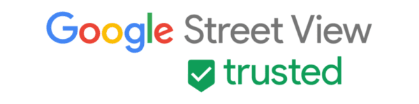 Google Street View Trusted badge - English
