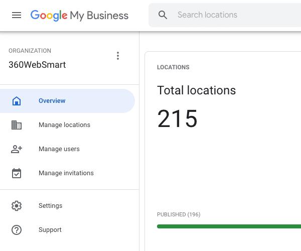 360WebSmart - Google My Business Agency